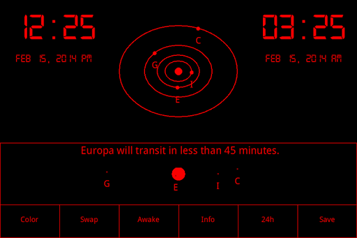 Jovian Clock