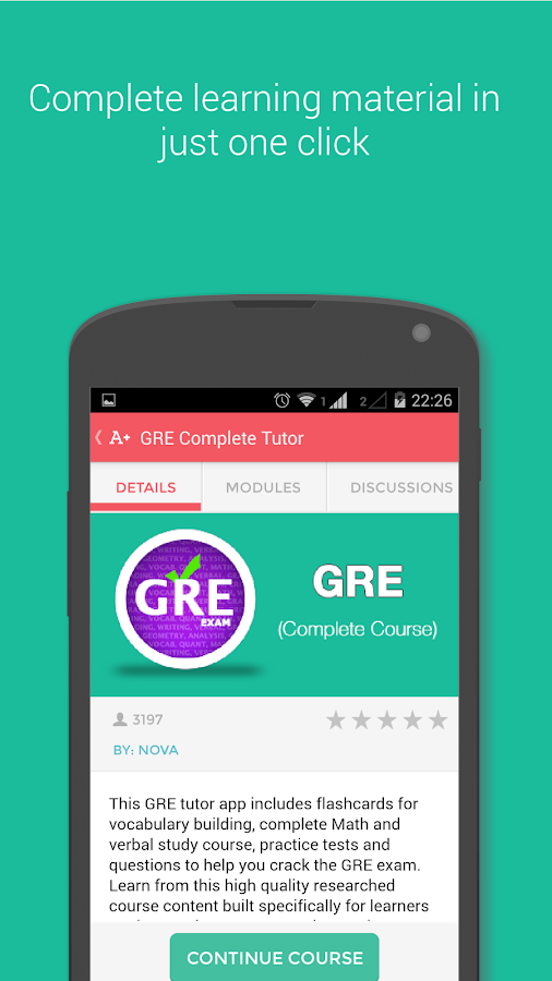 GRE Exam Prep - screenshot