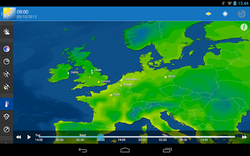 WeatherPro HD for Tablet - screenshot thumbnail