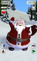 Screenshot of Talking Santa Free