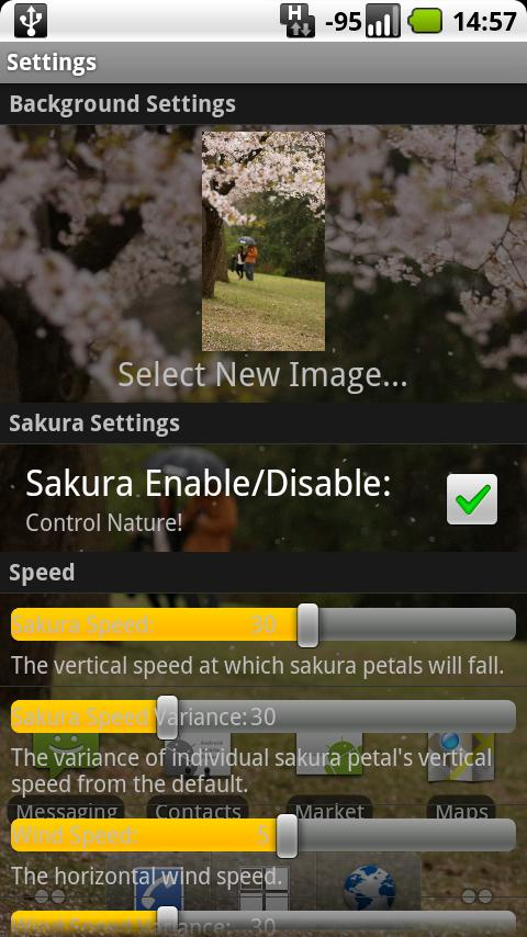 Sakura- screenshot