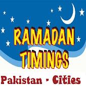 Ramzan Timing Pakistan 2015