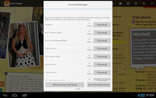 Screenshot of Pearson eText Global