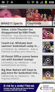Louisville College Sports WHAS - screenshot thumbnail