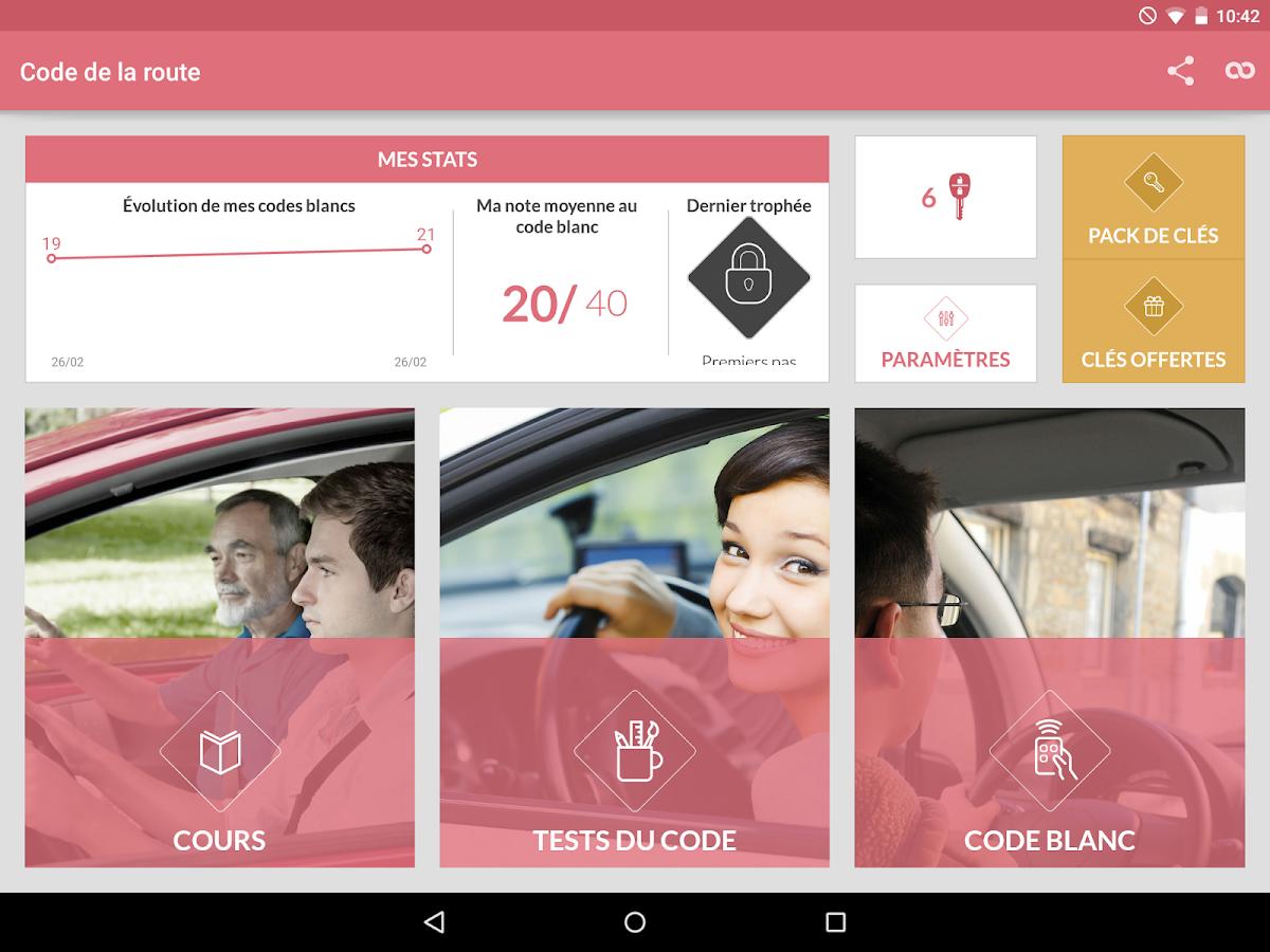 code de la route 2016 applications android sur google play. Black Bedroom Furniture Sets. Home Design Ideas