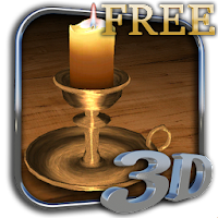 3D Melting Candle Free 2.6