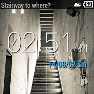 Wear Location Watch Face - screenshot thumbnail