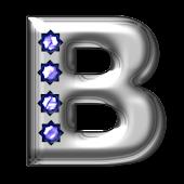 Bling-bling B-monogram