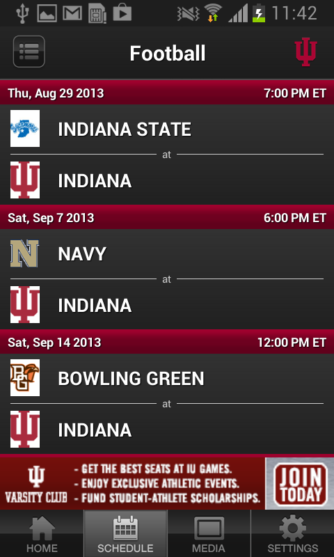 IUHoosiers.com Mobile - screenshot