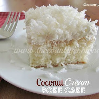 Coconut Cream Cake With Cake Mix Recipes.
