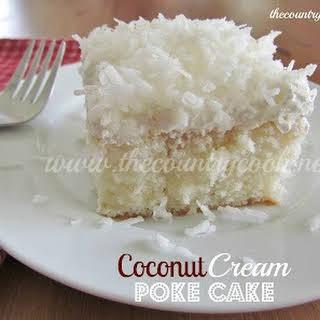 Coconut Cream Cake With Cake Mix Recipes.