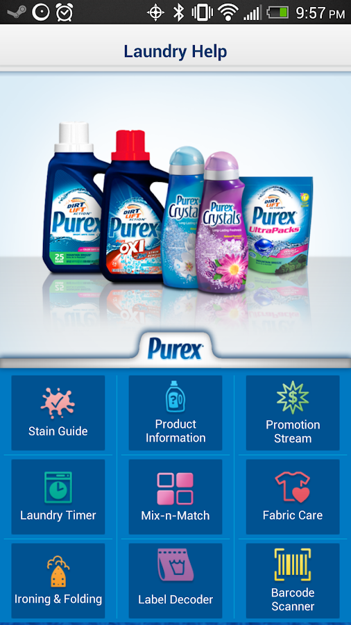 Purex Laundry Help App- screenshot