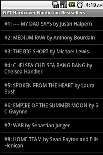 Books - Best Sellers- screenshot thumbnail