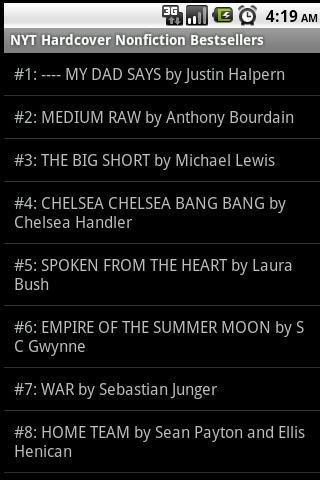 Books - Best Sellers - screenshot
