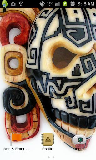 Mayan Mask App