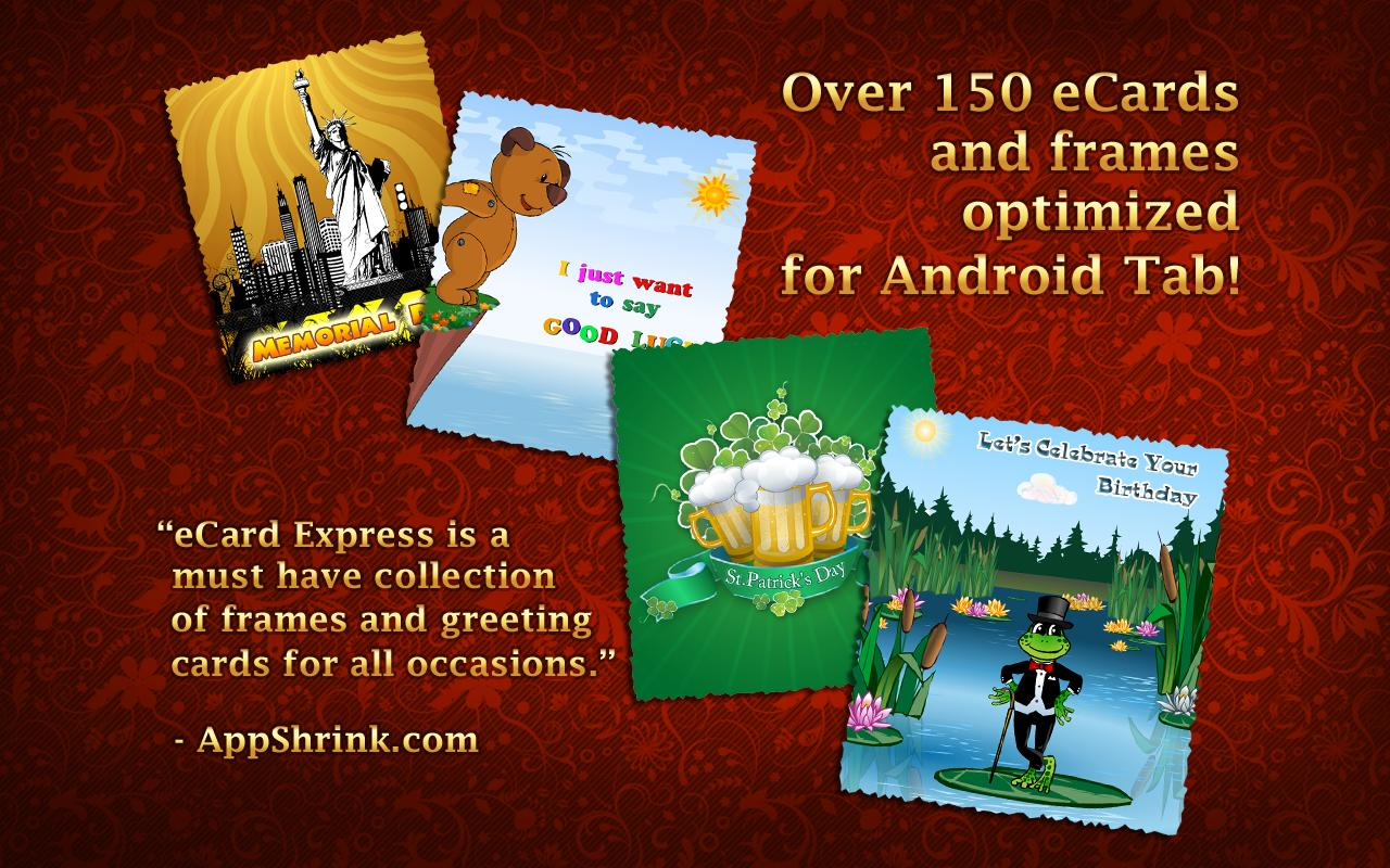 eCard Express HD - screenshot