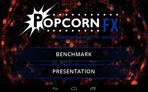 PopcornFX Unity Realtime Demo