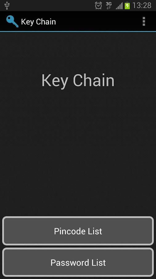 Key Chain- screenshot