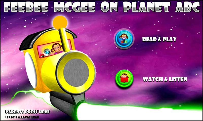 Feebee Mcgee on Planet ABC- screenshot