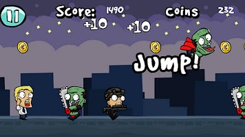 Screenshot of Backyard Zombies FREE