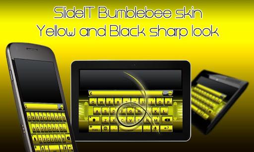 SlideIT Bumblebee Skin