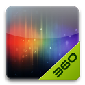Android 4.0 - 360桌面主题 icon