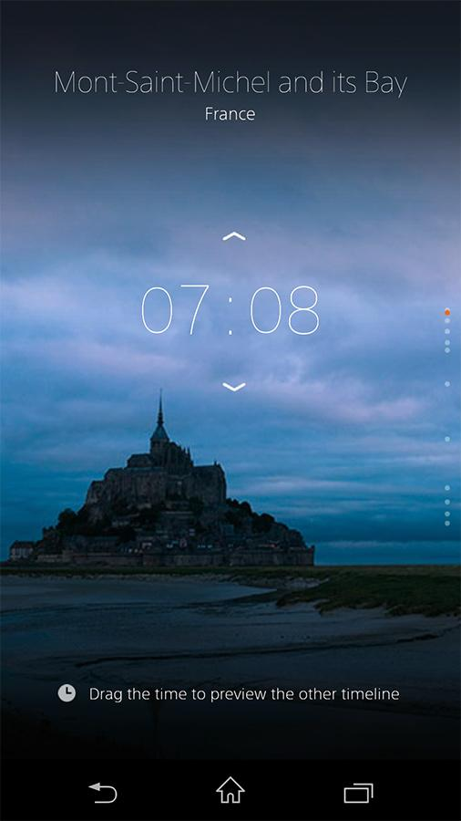 α CLOCK- screenshot