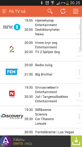 TV Guide Norge
