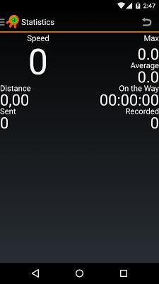 OsMoDroid GPS-tracker OsMo - screenshot