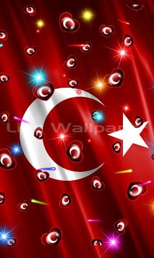 Turk Bayragi Kalp