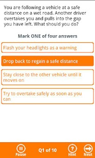 BSM Theory Test - Free Edition - screenshot thumbnail