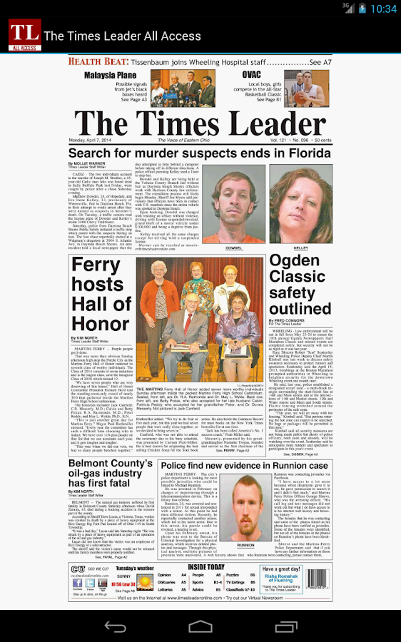 The Times Leader All Access - screenshot