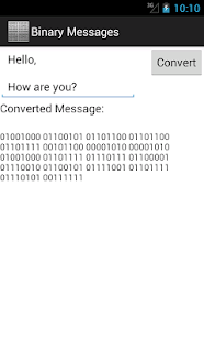 Binary Messages - screenshot thumbnail
