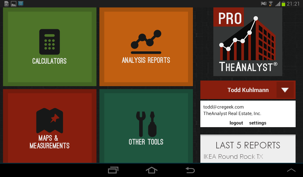 TheAnalyst® PRO- screenshot