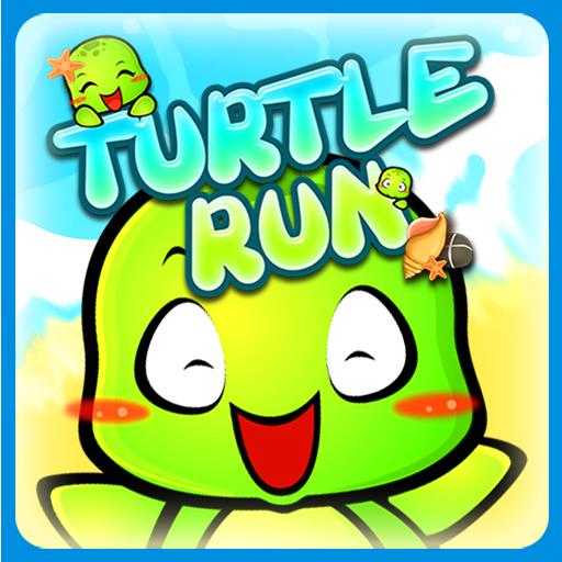 街机のTurtle Run LOGO-HotApp4Game
