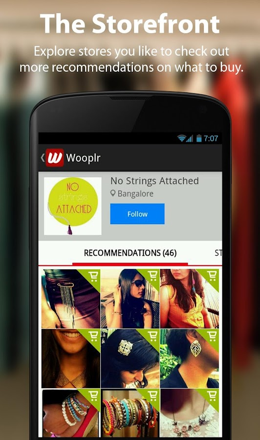 Local Shopping App - Wooplr - screenshot