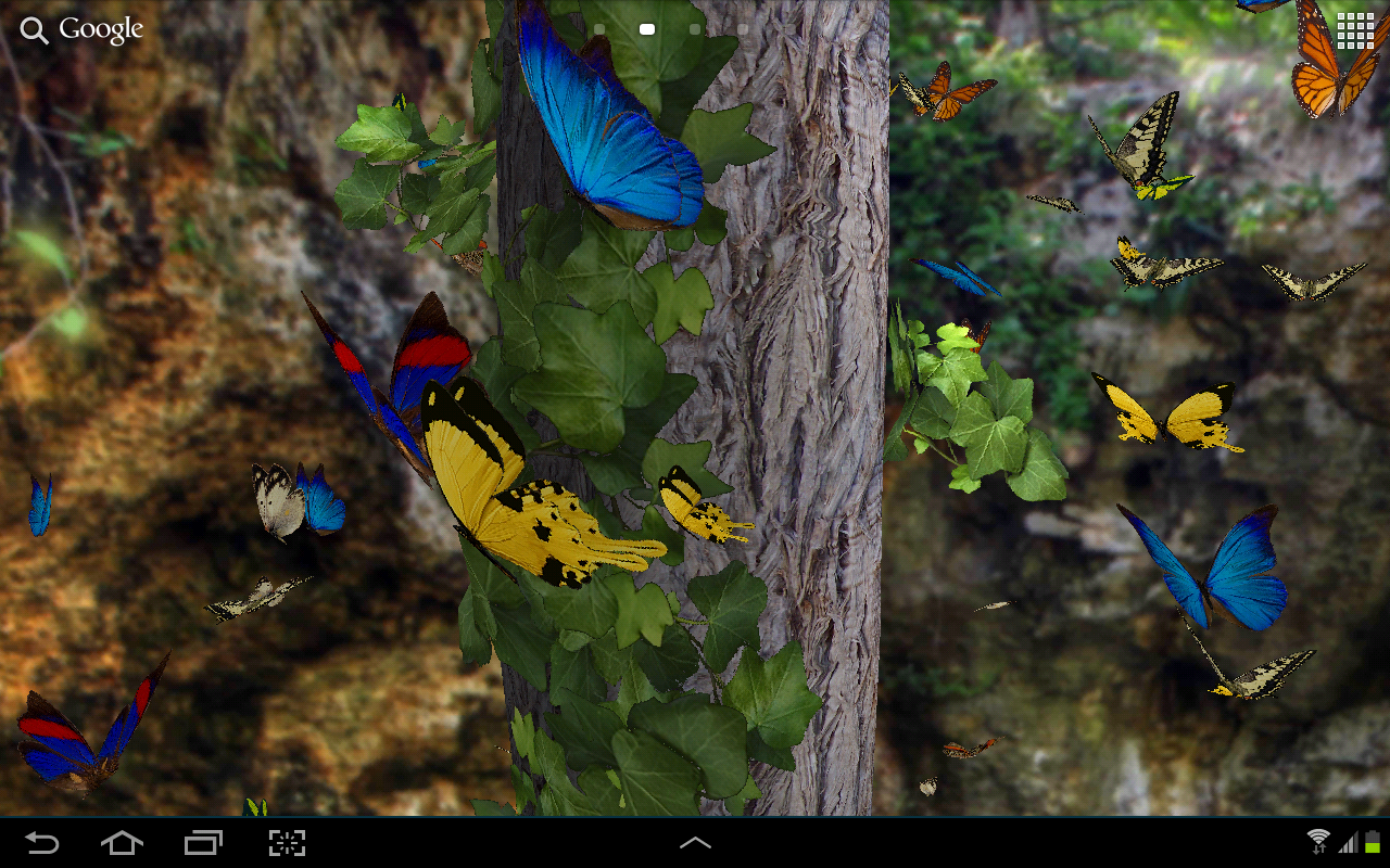 butterflies 3d live wallpaper android apps on google play