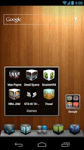 Cube Theme 4 Apex Launcher - screenshot thumbnail