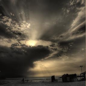 Untitled by Yana Villion - Landscapes Sunsets & Sunrises ( hdr, sunset, sea, beach, seascape,  )