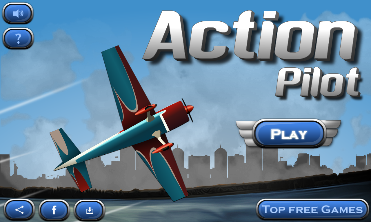 Action Pilot - Stuntmania !!- screenshot