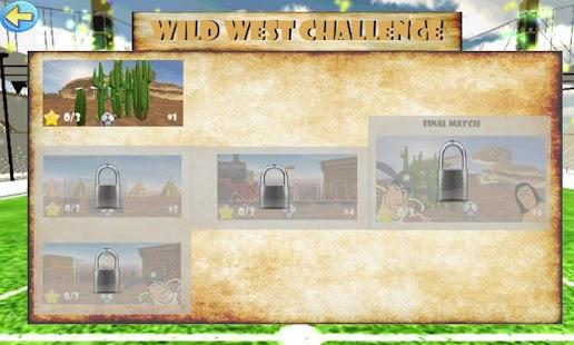 Kick Ball Challenges screenshot