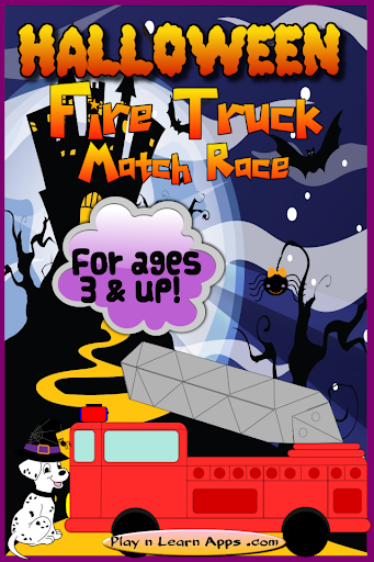 Firetruck Game Halloween