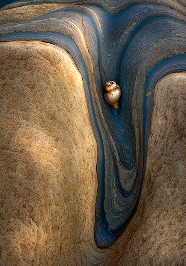 In the groove by John Horner - Nature Up Close Rock & Stone