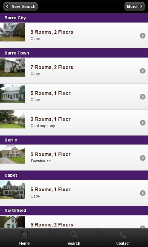 BCK Real Estate Mobile - screenshot