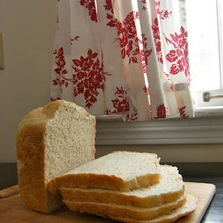 Homemade Bread in the Bread Machine.