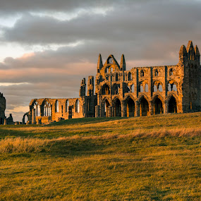 by Darrell Evans - Buildings & Architecture Public & Historical ( old, yorkshire, sunset, stone,  )