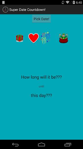 Super Date Countdown