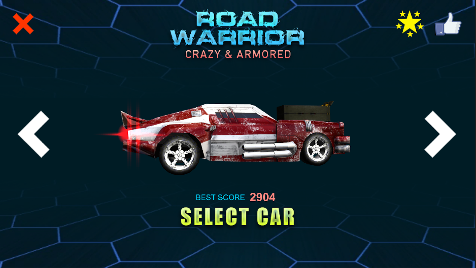 Road Warrior - Crazy & Armored- screenshot