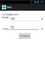 Screenshot of BMI