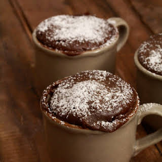 Chocolate Cake Express in 2 Minutes, or Coffee Mug Cake.